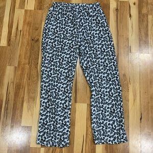 Leopard Print Pajama Pants